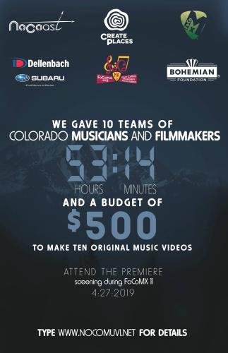 53:14 Film Festival | FoCoMX XI - Fort Collins Music eXperiment 2019